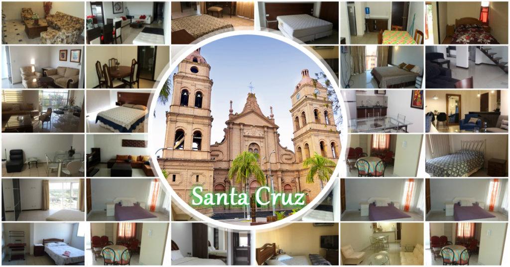 Departamentos Amoblados en alquiler en Santa Cruz Bolivia