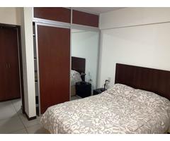 Departamento amoblado de 1 dormitorio en alquiler.