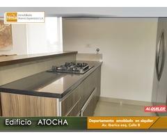 Exclusivo Departamento en Alquiler Edif. ATOCHA